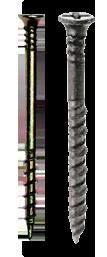 Gipsskruer til hård-/vådrumsgips - NETTOSKRUER.DK